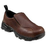 Nautilus Safety Footwear Men's Shoes Steel Toe Leather Moc Slip-On Brown 01620 Wide Avail at Sears.com