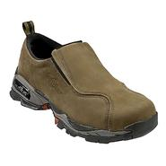 Nautilus Safety Footwear Men's Shoes Steel Toe Leather Moc Slip-On Moss 01620 Wide Avail at Sears.com