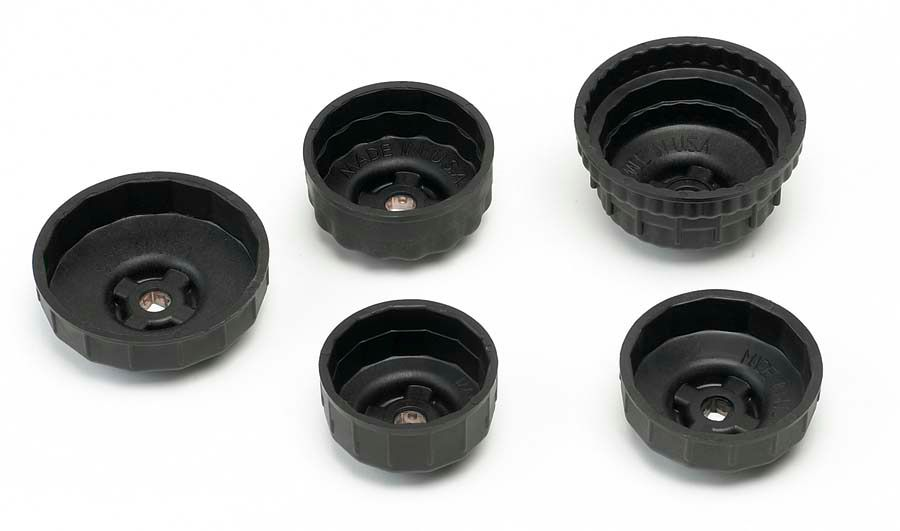 GearWrench Oil Filter End Cap Wrench, 36 Flute, 76/80/93mm, Plastic Cup