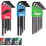 Eklind&#174 Hex & Torx&#174 L-Key, 29 key Combo Pack at Kmart.com