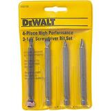 DeWalt 4 pc. 3-1/2 in. Power Bit Set at mygofer.com