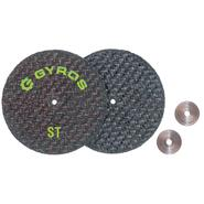 Gyros Cut Off Wheel, Fiber Disks ST 2 inch Dia. - Card of 2 at Kmart.com