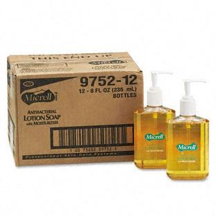 GOJO MICRELL® Antibacterial Lotion Soap