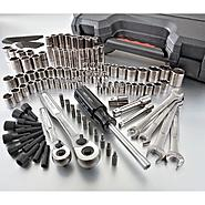 Craftsman 124 pc. 6 pt. Dual Marked Mechanics Tool Set with Case at Sears.com