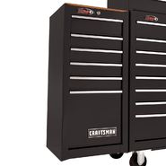 Craftsman 6-Drawer Ball-Bearing Side Chest - Black at Sears.com