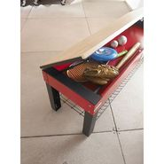 Geneva Heavy-Duty Steel Activity Storage Bench - Red at Kmart.com