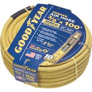 "Goodyear 3/8"" X 100' (300 PSI) RUBBER AIR HOSE - GOODYEAR at Sears.com"
