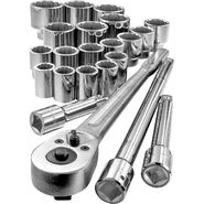 Craftsman 22 pc. 3/4 in. Drive Metric Socket Wrench Set at Craftsman.com