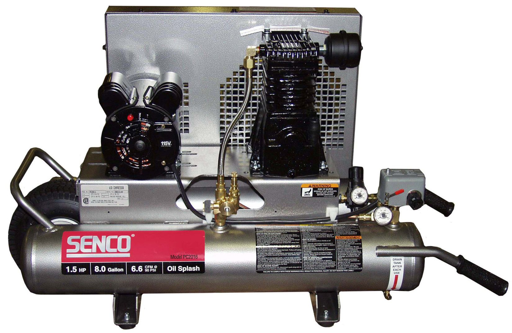 2 hp (Peak) Air Compressor