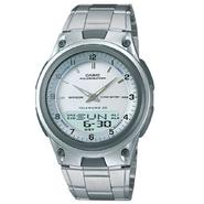 Casio Mens Sports White Dial Analog Digital Databank Watch at Sears.com