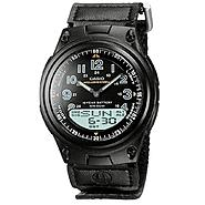 Casio Mens Black World Time Data Bank Watch at Kmart.com