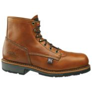 "Thorogood Men's Work Boots Heritage Leather Steel Toe 6"" Brown 804-4820 Wide Avail at Sears.com"