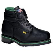 "Work One Men's Work Boots Aeromet Leather Steel Toe 6"" E-078 Black Walnut Wide Avail at Sears.com"