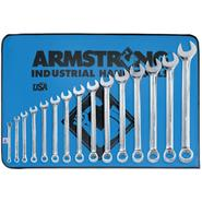 Armstrong 15 pc. 12 pt. Full Polish Long Combination Wrench Set at Sears.com