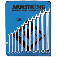 Armstrong 11 pc. 12 pt. Full Polish Extra Long Combination Wrench Set at Sears.com
