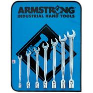 Armstrong 7 pc. 12 pt. Full Polish Flex Head Wrench Set with Vinal Roll Pouch at Sears.com