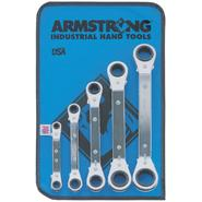 Armstrong 5 pc. 25 Degree Offset Ratcheting Box Wrench Set at Craftsman.com