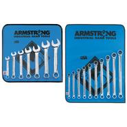 Armstrong 17 pc. 12 pt. Full Polish Ratcheting Box Wrench Set at Craftsman.com