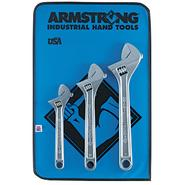 Armstrong 3 Pc. Chrome Adjustable Wrench Set at Craftsman.com