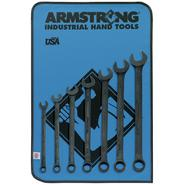 Armstrong 7 pc. 12 pt. Black Oxide Long Combination Wrench Set at Sears.com