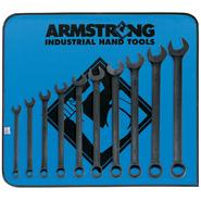 Armstrong 10 pc. 12 pt. Black Oxide Long Combination Wrench Set at Sears.com