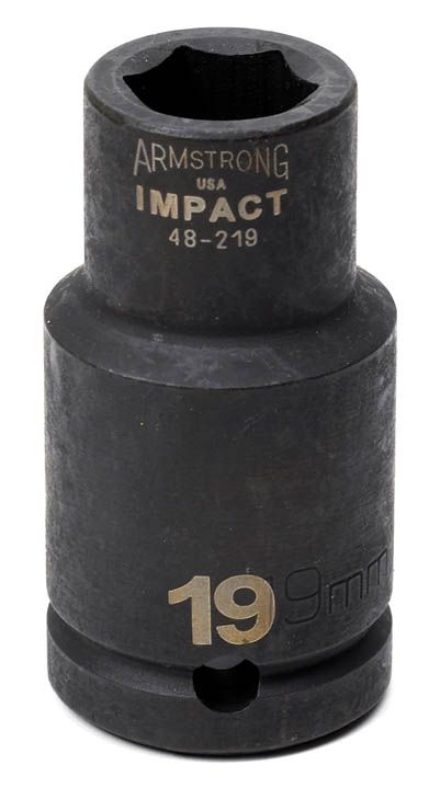 35 mm 6 pt. 3/4 dr. Deep Impact Sockey