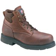 "Thorogood Men's Work Boots General Leather Steel Toe 6"" Brown 804-4820 Wide Avail at Sears.com"