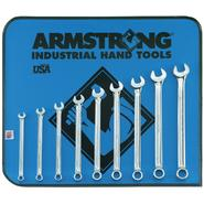 Armstrong 9 pc. 12 pt. Full Polish Long Combination Wrench Set in Vinyl Roll Pouch at Sears.com