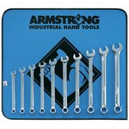 Armstrong 10 pc. 12 pt. Full Polish Long Combination Wrench Set in Vinyl Roll Pouch at Sears.com