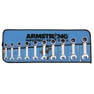 Armstrong 10 pc. Stubby Ratcheting Wrench Set in Vinyl Roll Pouch at Sears.com