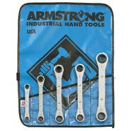 Armstrong 5 pc. Ratcheting Box Wrench Set in Vinyl Roll Pouch at Sears.com