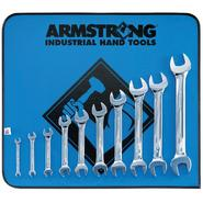 Armstrong 10 pc Full Polish Open End Wrench Set with Vinyl Roll Pouch at Sears.com