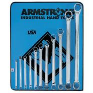 Armstrong 11 pc. 12 pt. Full Polish 15 degree Offset Box Wrench Set in Vinyl Roll Pouch at Sears.com