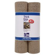Contact Grip Ultra Liner 3 Roll Pk, 12X4 Taupe at Kmart.com