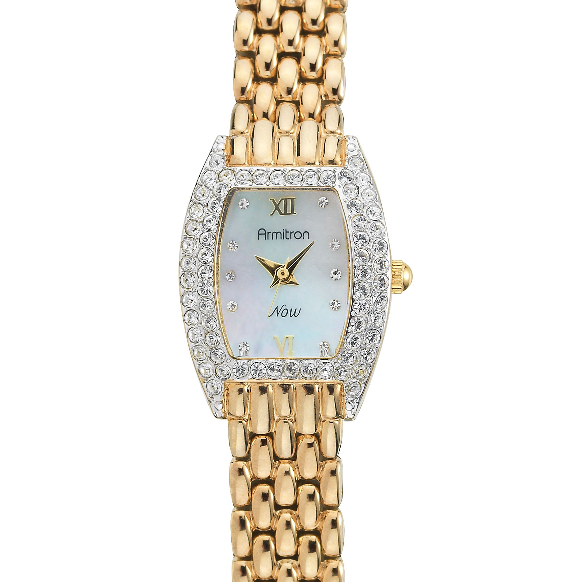 Armitron  Ladies Crystal Studded Bazel