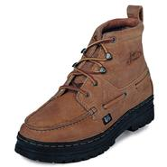 Justin Men's Boots Leather Copper 00995 at Sears.com