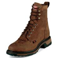"Tony Lama Men's Work Boots Steel Toe 8"" Cheyenne TW2004 Wide Avail at Sears.com"