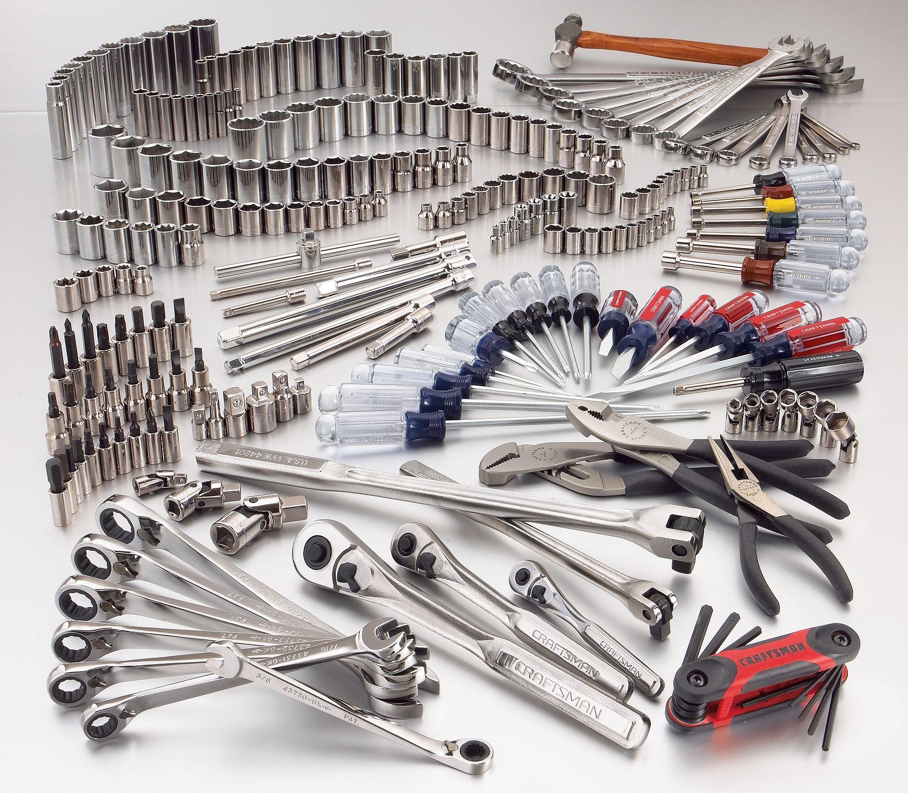 Craftsman 252 Pc Mechanics Tool Set Metric