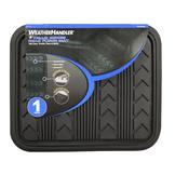 WeatherHandler All Weather Rear 1 pc. Rubber Floor Mat at mygofer.com