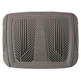 WeatherHandler All Weather Rear 1pc Rubber Floor Mat at mygofer.com