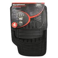 WeatherHandler Deluxe 4pc Rubber Floor Mat Set at Sears.com