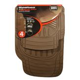 WeatherHandler Deluxe 4pc Rubber Floor Mat Set at mygofer.com