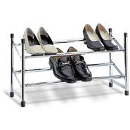 Organize It All Expandable Shoe Rack Chrome at Kmart.com