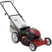 Craftsman 37177 6.75 Torque 21 in. Deck Rear Bag Push Lawn Mower with High Wheels - CA Model