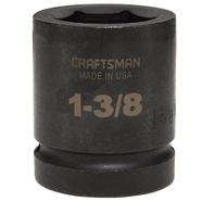 Craftsman 1-3/8 in. Easy-To-Read Impact Socket, 6 pt. Standard 1 in. Drive at Craftsman.com
