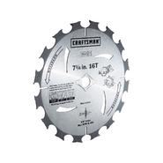Craftsman CLOSEOUT! 7-1/4 in. Premium Corded Circular Saw Blades - 10 pack at Sears.com