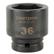 Craftsman 36 mm Easy-To-Read Impact Socket, 6 pt. Standard 3/4 in. Drive at Craftsman.com