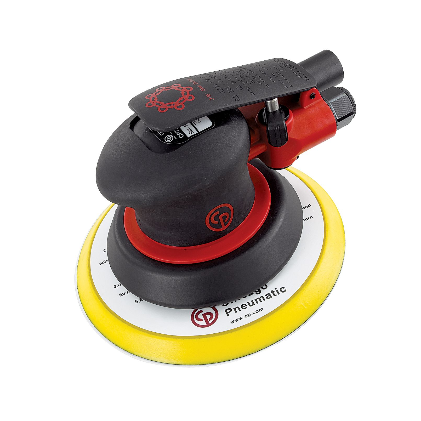 CLOSEOUT! 6 in. Random Orbit Sander - 3/8 in.
