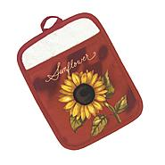 Essential Home Sunflower Basket Pot Mitt at Kmart.com