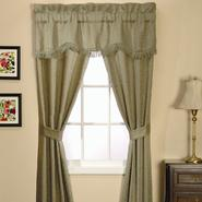 Essential Home Classic Scroll 5 Piece Window Set - Olive at Kmart.com